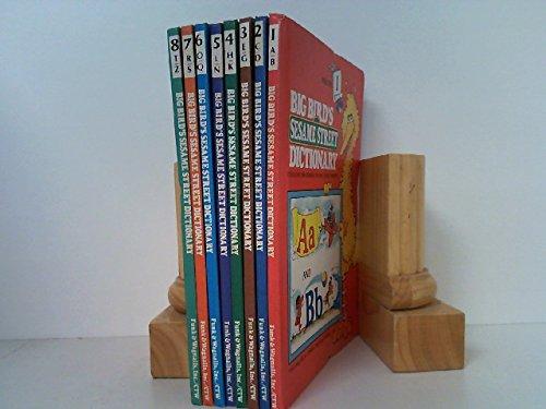 Big Bird's Sesame Street Dictionary 8-book Set ()