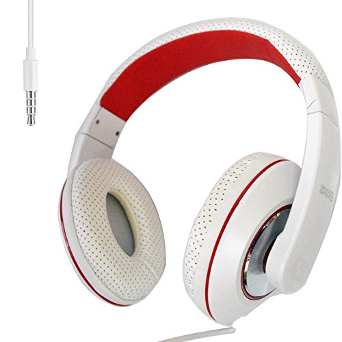 - 3.5mm Stereo Headband Headphone With Microphone for Cell Phone Laptop Tablets Computer PC MP3/4
