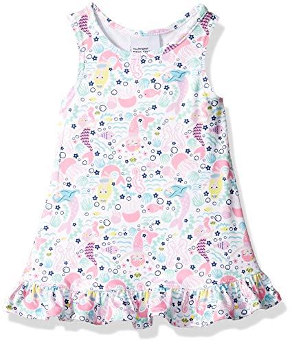 Clothes Happy Flap - Flap Happy Baby Girls UPF 50+ Jillian A-Line Dress, Malibu Mermaid 24M
