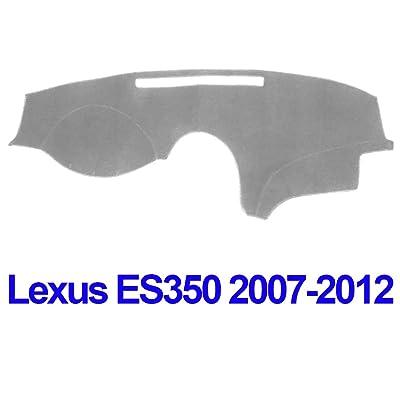 JIAKANUO Auto Car Dashboard Carpet Dash Board Cover Mat Fit Lexus ES350 2007-2012 (Gray MR-064): Automotive