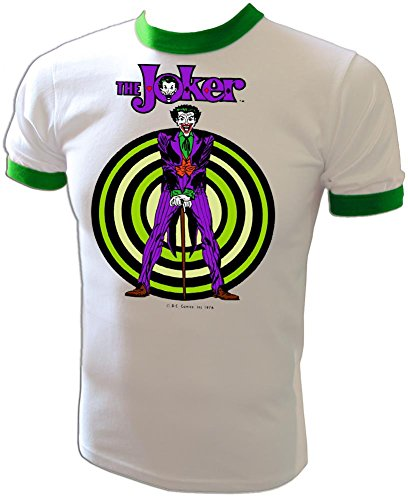 Batman+Retro+Shirts Products : Legion of Doom JOKER Vintage 1976 D.C. Comics Batman Robin cartoon Hall of Justice League t-shirt