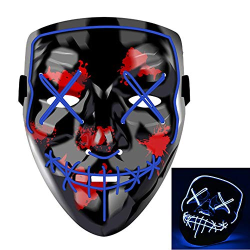 Halloween Costumes Scary Costumes - Yostyle Halloween Scary Mask Cosplay Led