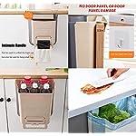 JMGoodstore-Cubos-Plegable-Colgando-para-la-CocinaPlegable-Cubo-Basura-Extraible-pequeno-y-Compacto-Contenedor-Organizador-ArmarioBlanco