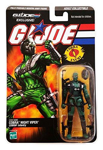 G.I. Joe Collectors Club 2008 Exclusive Cobra Night Viper Action ()