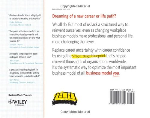 Business model you a one page method for reinventing your career business model you a one page method for reinventing your career timothy clark res amazon libros malvernweather Image collections
