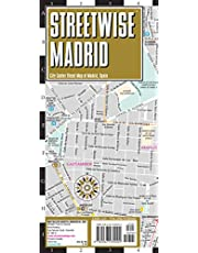 STREETWISE MADRID MAP