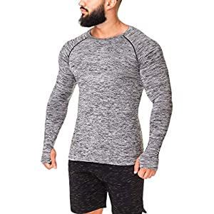 Kamo Fitness Long Sleeve Top - Baselayer That Will Keep You Warm & Active.Performance Fit & Quick-Drying Fabric. 21