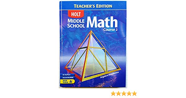 Amazon.com: Holt Middle School Math, Course 2: Algebra Readiness ...