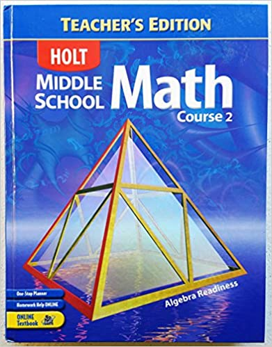 Amazon.com: Holt Middle School Math, Course 2: Algebra Readiness ...