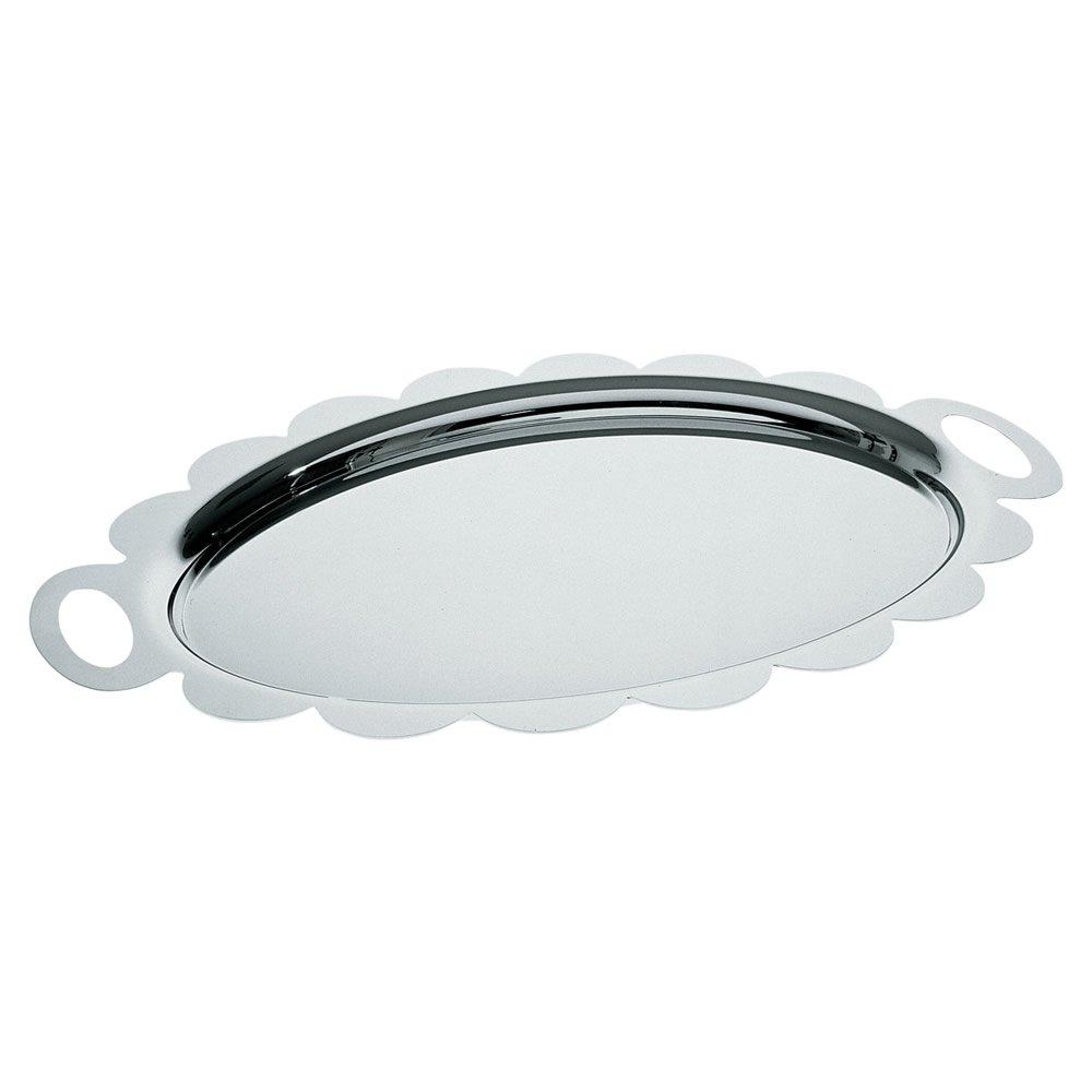 Alessi AM12''''Recinto'' Oval Tray, Silver