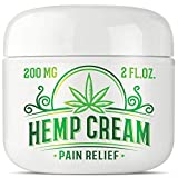 Best Arthritis Knee Pain Creams - Hemp cream for pain relief with 200 milligram Review
