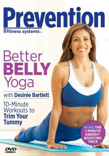 Prevention Fitness: Better Belly Yoga (Dvd Better Belly Yoga)