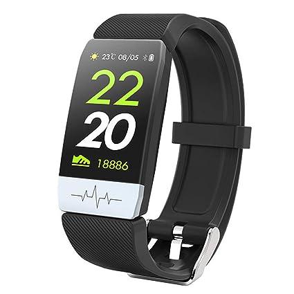 Amazon.com: Zzrp Smart Watch Heart Rate Monitor Blood ...