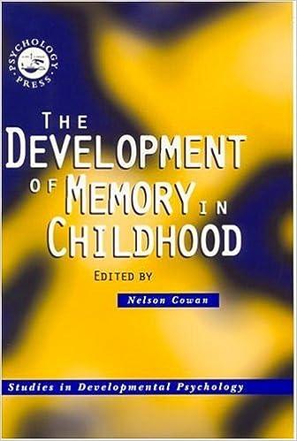 Book The Development of Memory in Childhood (Studies in Developmental Psychology)