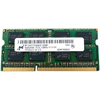 HP 691740-001 4GB, 1600MHz, PC3L-12800 DDR3L DIMM memory ...