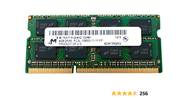 HP 8GB (1 x 8GB) PC3L-12800 DDR3L-1600 SODIMM for Notebooks [PN: 693374-001 / 693374-005]