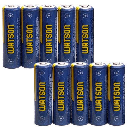 Watson AA NiMH Rechargeable Batteries (2300mAh) - 10-Pack