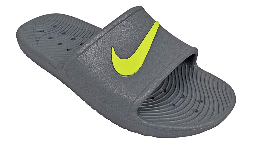 Mehrfarbig (Cool grau Volt 003) Nike Herren Kawa Shower Dusch-& Badeschuhe