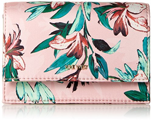 Nine West Mini - Nine West Mini Anndi Crossbody Convertible Cross Body, pink multi/platino