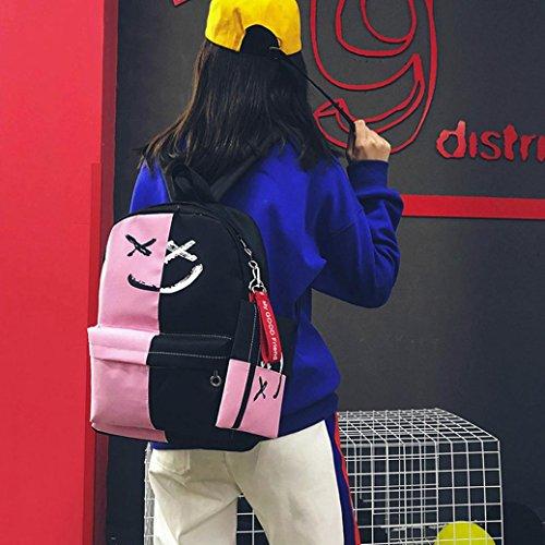 au Sac porté main femme rose dos à pour Y56 bonbon M pUwgqfIw