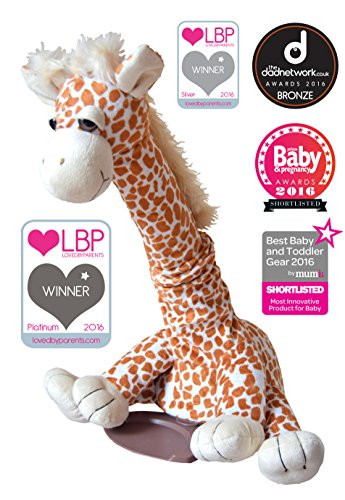 SleepyBobo Portable Automatic Car SeatCribBouncer Rocker Gerry The Giraffe