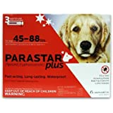 Novartis Parastar Plus Flea and Tick Control for Dogs, 45 to 88-Pound, Red by Lambriar Vet - Dropship [Pet Supplies]