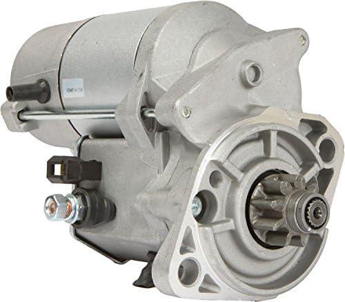 DB Electrical SND0343 New Starter For Kubota KX121-3 Excavator V2203MEBH 42HP Diesel 05-13 /Tractors Compact L48TL L5240 /Tractors Utility MX5000DT MX5000F /V2403 48HP 50HP /17123-63013, 17123-63016 514DcqebApL