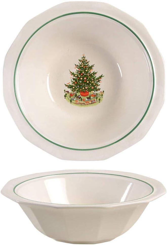 "Pfaltzgraff Christmas Heritage 9"" Serving Bowl"