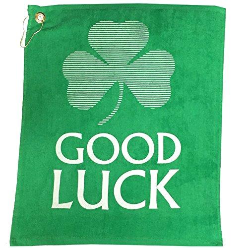Giggle Golf Good Luck Golf (Irish Golf Towel)
