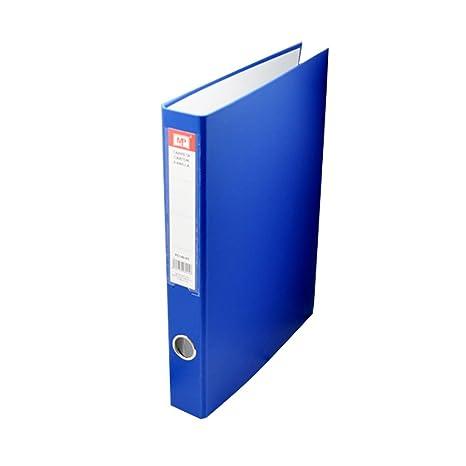 MP PC140-03 - Carpeta folio con 4 anillas, color azul