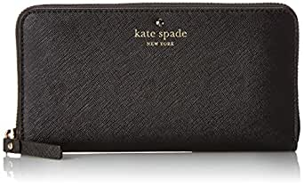 kate spade new york Cedar Street Lacey Wallet,Black,One Size
