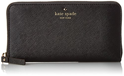 kate spade new york Cedar Street Lacey Wallet,Black,One Size by Kate Spade New York