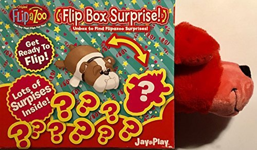Flipazoo Red Puppy Flip Box Surprise! Unbox and Flip for a S