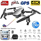 DSstyles SG907 GPS Drone with Camera 4K 5G WiFi RC Quadcopter Optical Flow Foldable Mini Dron 1080P HD Camera Drone 4K 1 Battery