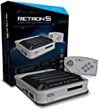 Hyperkin RetroN 5 Retro Video Gaming System (5 in 1) - Grey (Electronic Games)