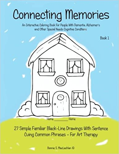 Amazon Com Connecting Memories Book 1 A Coloring Book For Adults