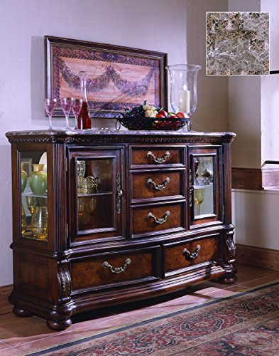 Pulaski San Marino Server (Pulaski Glass Table)