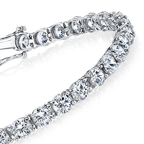 Traditional Classic Brilliant Bracelet Sterling