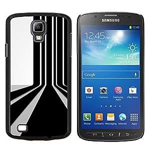 LECELL--Funda protectora / Cubierta / Piel For Samsung Galaxy S4 Active i9295 -- Código de barras de pared --