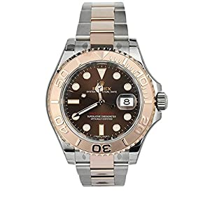 Rolex Yatch-master Chocolate Dial 18k Rose Gold Mens Watch 116621