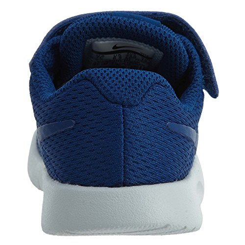 NIKE Boys Tanjun (TDV) Running Shoes (7 Toddler M, Gym Blue/Gym Blue)