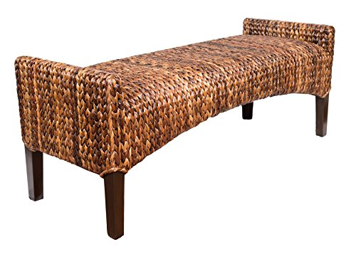 (BirdRock Home Seagrass Bench)