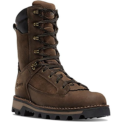Danner Men's powderhorn 10'' height Brown 400G Hunting Boots | Gore-TEX (GTX) Waterproof Hiking Leather Boots | Footbed Ortholite Hunter Modern Battlefield Combat Boot (10.5 D)