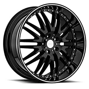 Menzari Z04 20x9.5 5x114.3 +35mm Gloss Black Wheel Rim