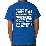 Brisco Brands Dunder Run Race Cure Funny Scranton TV Comedy T Shirt Tee