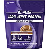 EAS 100% Whey Protein Powder, Chocolate (5 lbs.) (pack of 6)