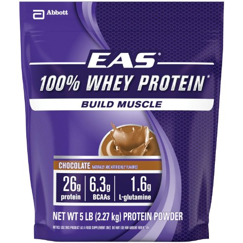 Eas Protein Calories (EAS 100% Whey Protein 5 Lb Resealable Bag -)