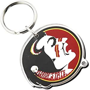 NCAA Florida State Seminoles (FSU) High Definition Logo Keychain