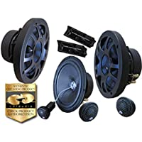 CDT Audio ES-60CV.2 6.7 Convertible Component / Coaxial 2-way Speaker System 2 OHM VERSION
