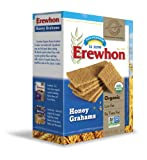 Erewhon Honey Grahams, 14.4-Ounce Boxes (Pack of 12)